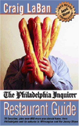9780940159983: The Philadelphia Inquirer Restaurant Guide