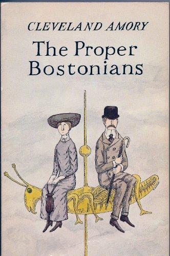 9780940160255: The Proper Bostonians