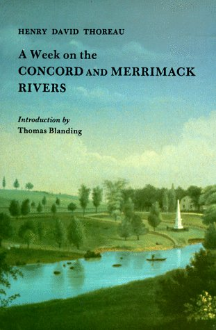 9780940160361: Week on the Concord and Merrimack Rivers