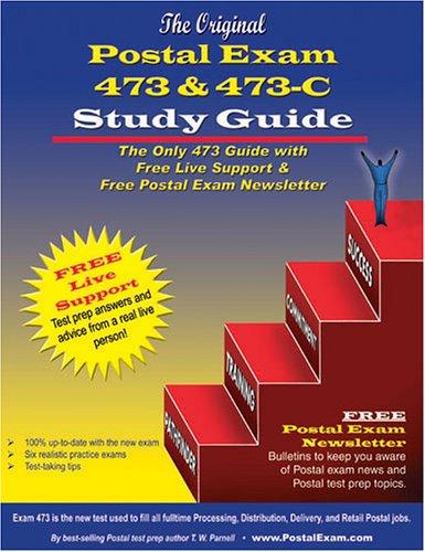 9780940182264: Original Postal Exam 473 & 473-C Study Guide