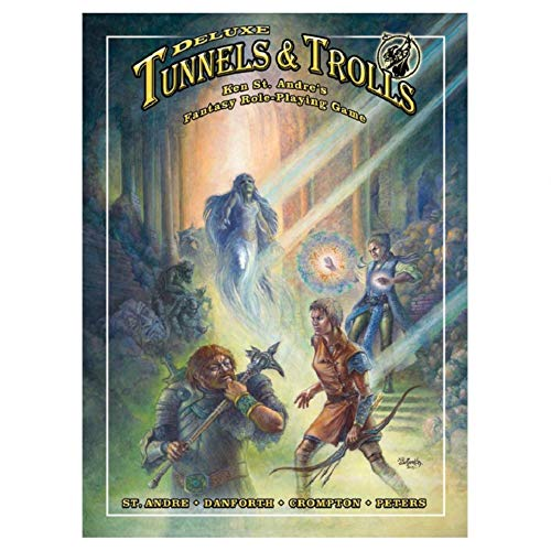 Deluxe Tunnels & Trolls Rulebook: Ken St Andre