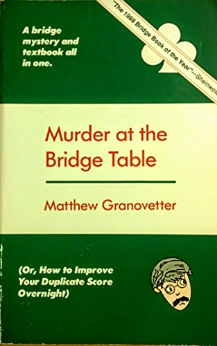 9780940257016: Murder at the Bridge Table