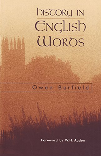 9780940262119: History in English Words