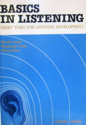 9780940264328: Basics in Listening: American English