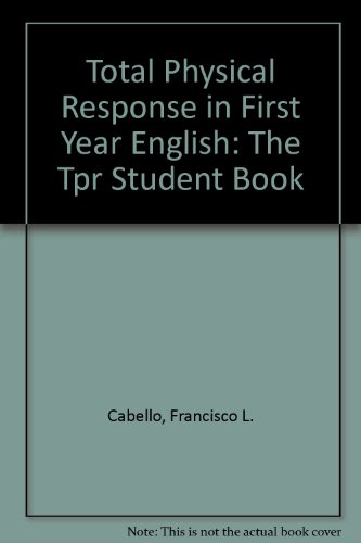 9780940296336: Total Physical Response in First Year Spanish
