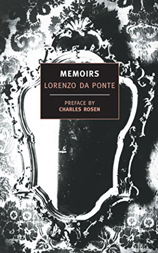 9780940322356: Memoirs of Lorenzo Da Ponte (New York Review Books Classics)