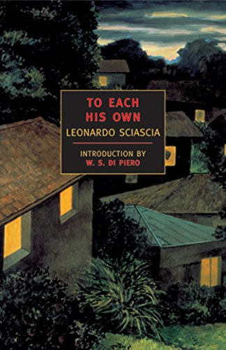9780940322523: To Each His Own (New York Review Books Classics)