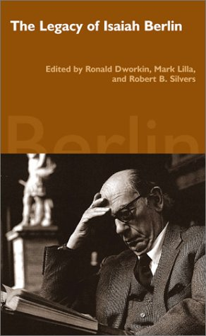 9780940322592: The Legacy of Isaiah Berlin