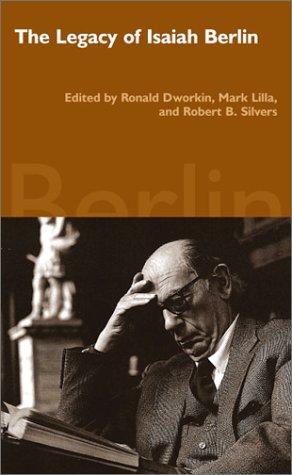 9780940322592: The Legacy of Isaiah Berlin