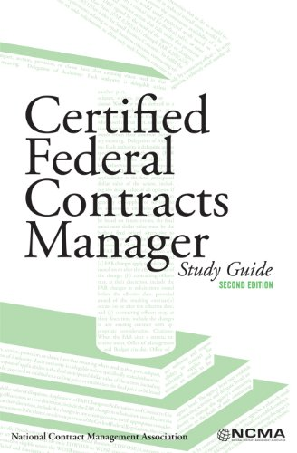 9780940343900: certified federal contracts manager, study guide, 2nd ...