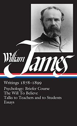 9780940450721: William James: Writings, 1878-1899