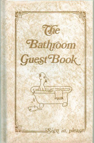 9780940462007: THE BATHROOM GUEST BOOK.