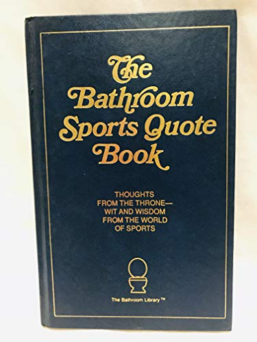 9780940462311: The Bathroom Sports Quote Book