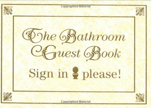 9780940462946: The Bathroom Guest Book