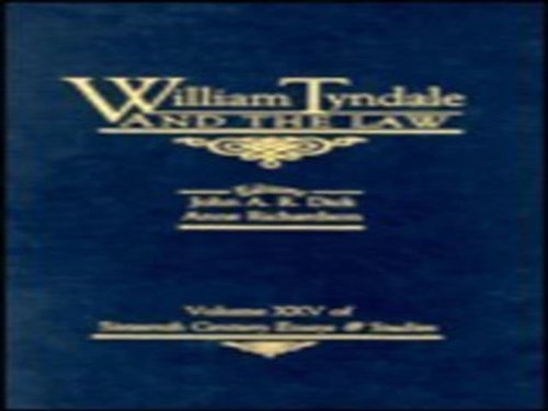 9780940474260: William Tyndale and the Law (Sixteenth Century Essays and Studies, V.25)