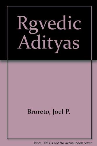 9780940490635: Rgvedic Adityas