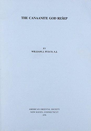 Canaanite God Resep: Fulco, William J.