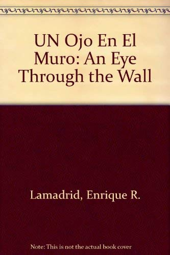 Un Ojo En El Muro/An Eye Through: Lamadrid, Enrique R.