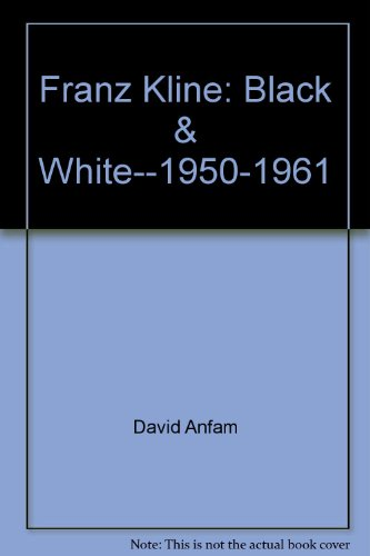 9780940619104: Franz Kleine - Black and White 1950-1961: The Menil Collection