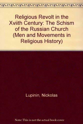 Religious Revolt in the Seventeenth Century: Lupinin, Nickolas B.