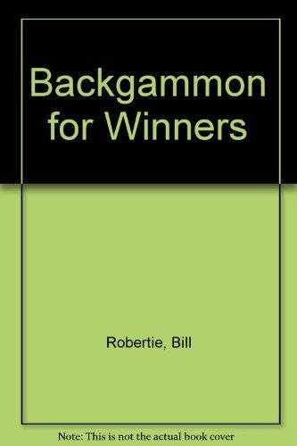 9780940685420: Backgammon for Winners