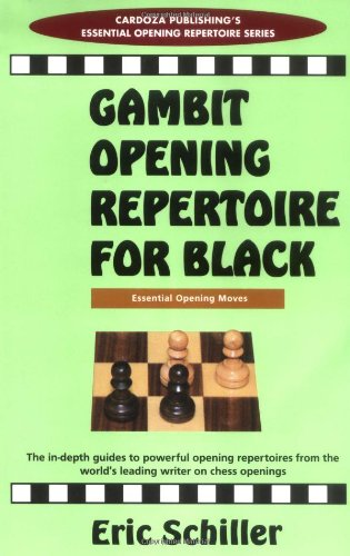 9780940685796: Gambit Openings Repertoire For Black