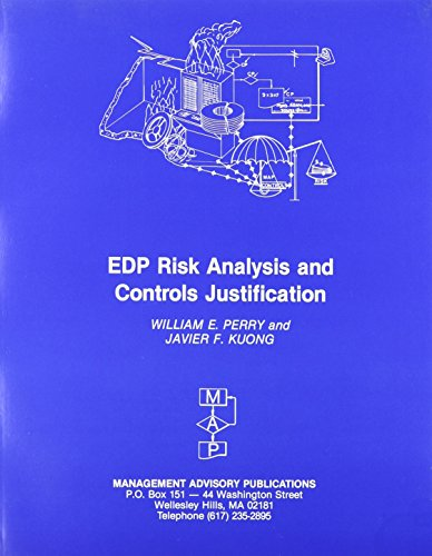 Edp Risk Analysis and Controls Justification (Enterprise: W. E. Perry,