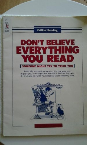 9780940712294: Don't Believe Everything You Read