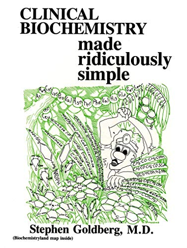 9780940780101: Clinical Biochemistry Made Ridiculously Simple (Rapid Learning & Retention Through the MedMaster)