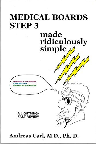 9780940780378: Medical Boards Step 3 Made Ridiculously Simple (MedMaster Series)