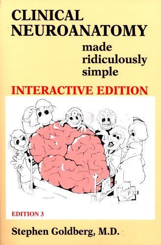 9780940780576: Clinical Neuroanatomy Made Ridiculously Simple (3rd Edition; Book & CD-ROM)