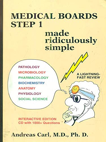 9780940780620: Medical Boards Step 2 Made Ridiculously Simple (MedMaster Series 2004 Edition)