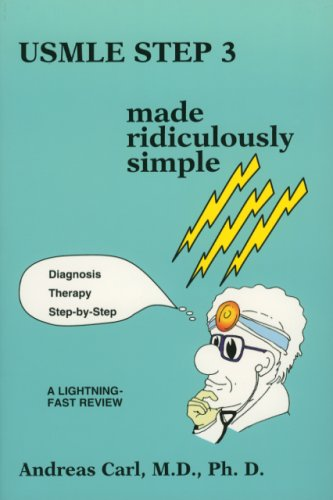 9780940780736: Usmle Step 3 Made Ridiculously Simple (Medmaster Ridiculously Simple) (Medmaster Ridiculously Simple Series)