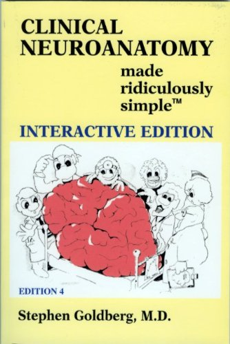 9780940780927: Clinical Neuroanatomy Made Ridiculously Simple: Interactive Edition