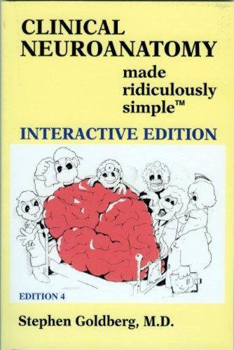 9780940780927: Clinical Neuroanatomy (Book & CD) (Made Ridiculously Simple)