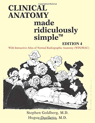 9780940780972: Clinical Anatomy Made Ridiculously Simple