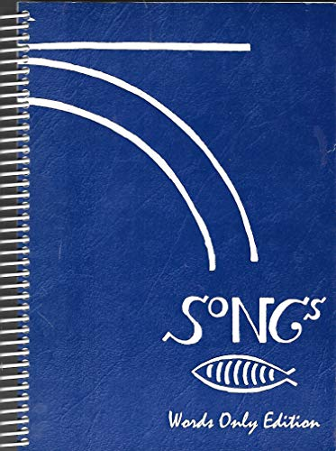9780940781078: Songs: Words Only Edition, Larger Print