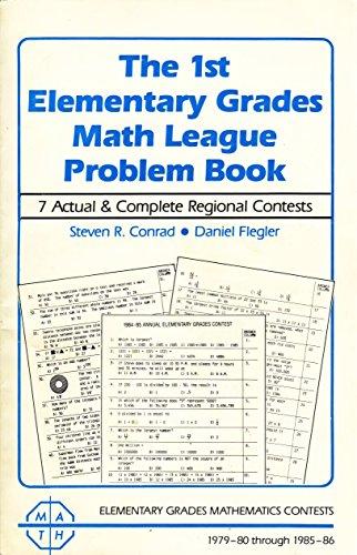 9780940805019: The 1st Elementary Grades Math League Problem Book