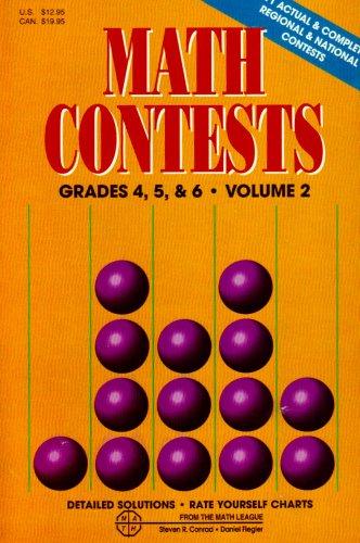 9780940805033: Math Contests, Vol. 2, Grades 4, 5, and 6
