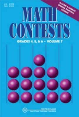 9780940805217: Math Contests: Grades 4, 5, and 6