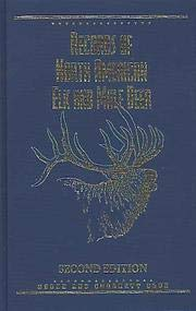9780940864252: Records of North American Elk and Mule Deer, 2nd Edition
