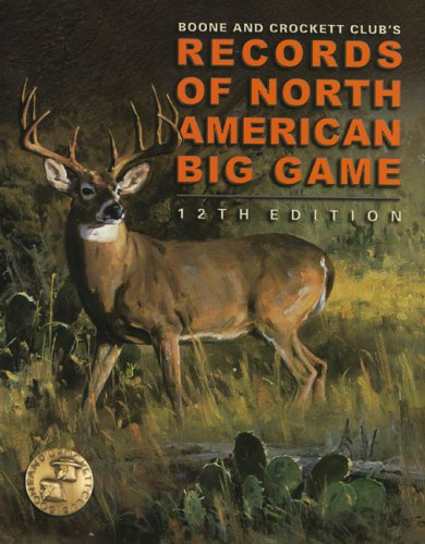 9780940864511: Records of North American Big Game