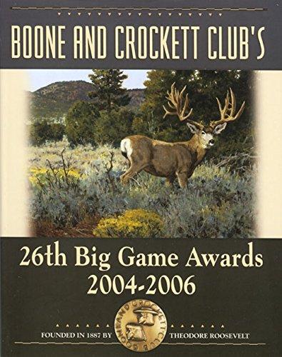 9780940864573: BOONE & CROCKETT CLUBS Big Game Awards