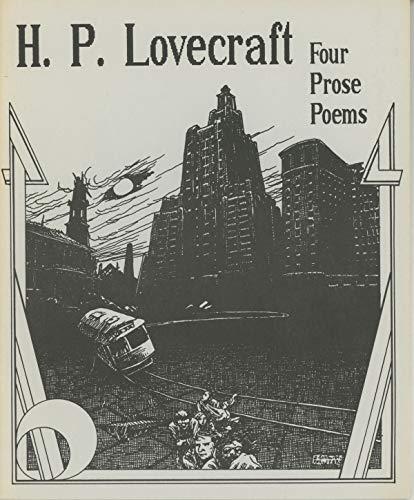 9780940884106: H.P. Lovecraft: Four Prose Poems