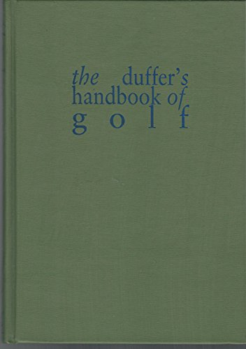 DUFFER'S HANDBOOK OF GOLF: Rice, Grantland and Briggs, Clare