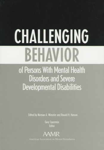 9780940898660: Challenging Behavior of Persons With Mental Health Disorders and Severe Developmental Disabilities