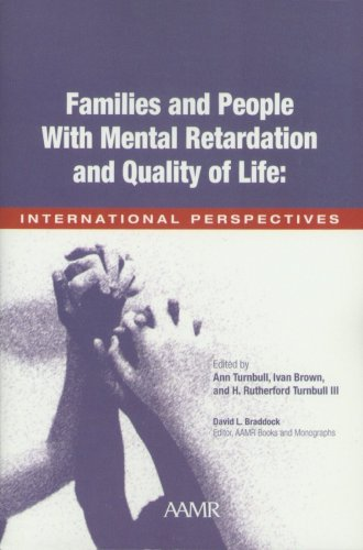 9780940898875: Families and People with Mental Retardation and Quality of Life: International Perspectives