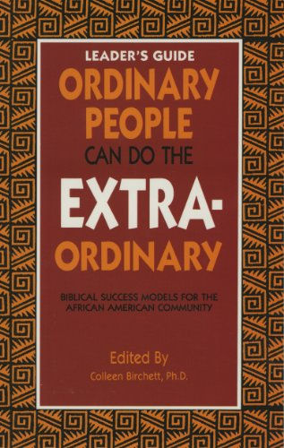 9780940955226: Ordinary People Can Do the Extraordinary