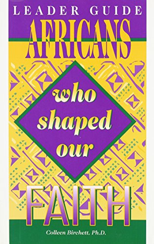 9780940955301: Leader's Guide Africans Who Shaped Our Faith