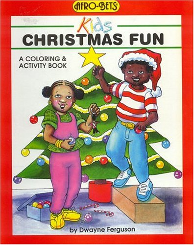 9780940975415: Christmas Fun Coloring and Activity Book (Afro-Bets)